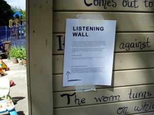 Listening Wall